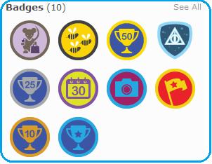 Ukázka badges