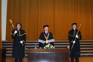 Pan děkan prof.Ing.Jan Hron, DrSc.,dr.h.c