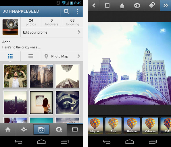 Instagram pro Android