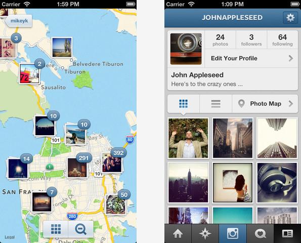 Instagram pro iOS