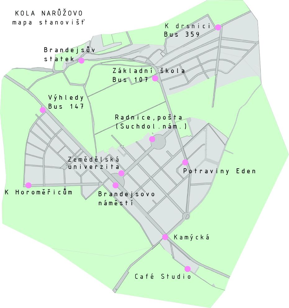 Mapa stanovišť
