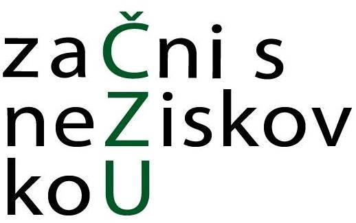 začni s neziskovkou logo
