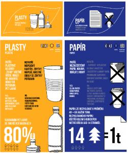 Plast, papír