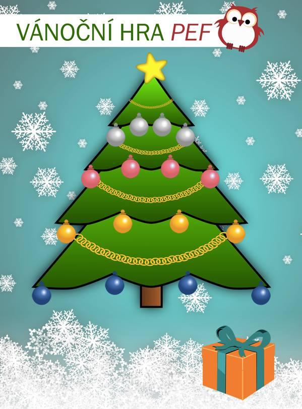 Vánoční hra 2015 – Ozdob si stromeček!