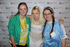 Kristýna, Maruška, Andy - Akční tým
