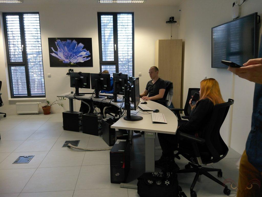 Testování použitelnosti v laboratoři HUBRU