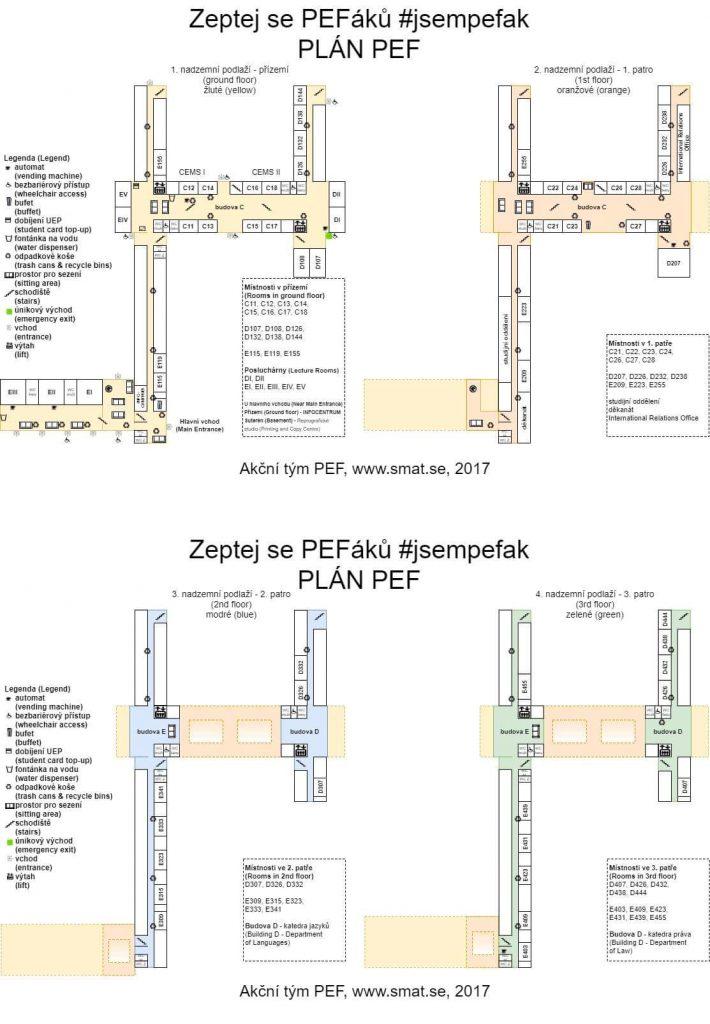 Plán PEF ČZU