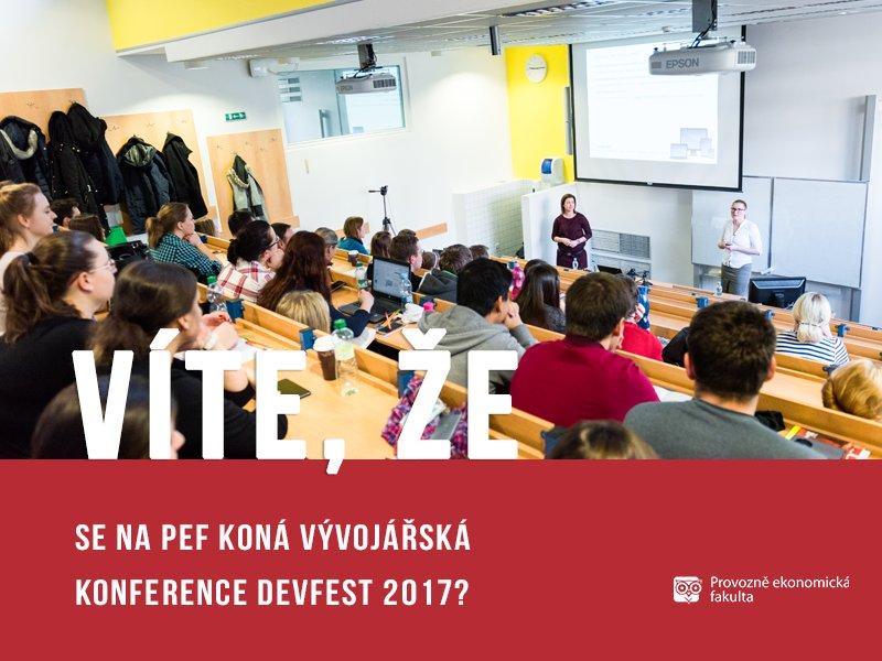 Vývojářská konference Devfest