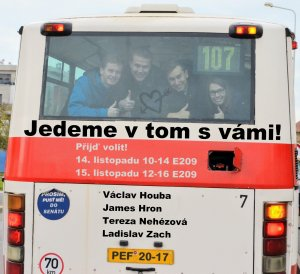 Volby do akademického semátu PEF ČZU