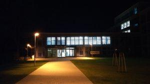 Nová budova PEF ČZU vnoci