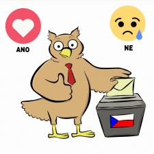 Volby / autorka: Míša Bochňáková