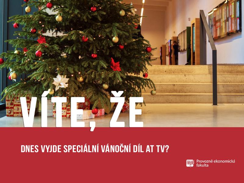 Akční tým PEF vydává speciální vánoční díl AT TV;autor obrázku Patrik Hácha