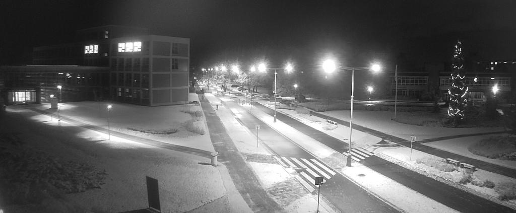 Sníh vnoci na ČZU 2017