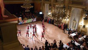 akrobatické tance, Národní dům na Vinohradech, Ples studentů ČZU