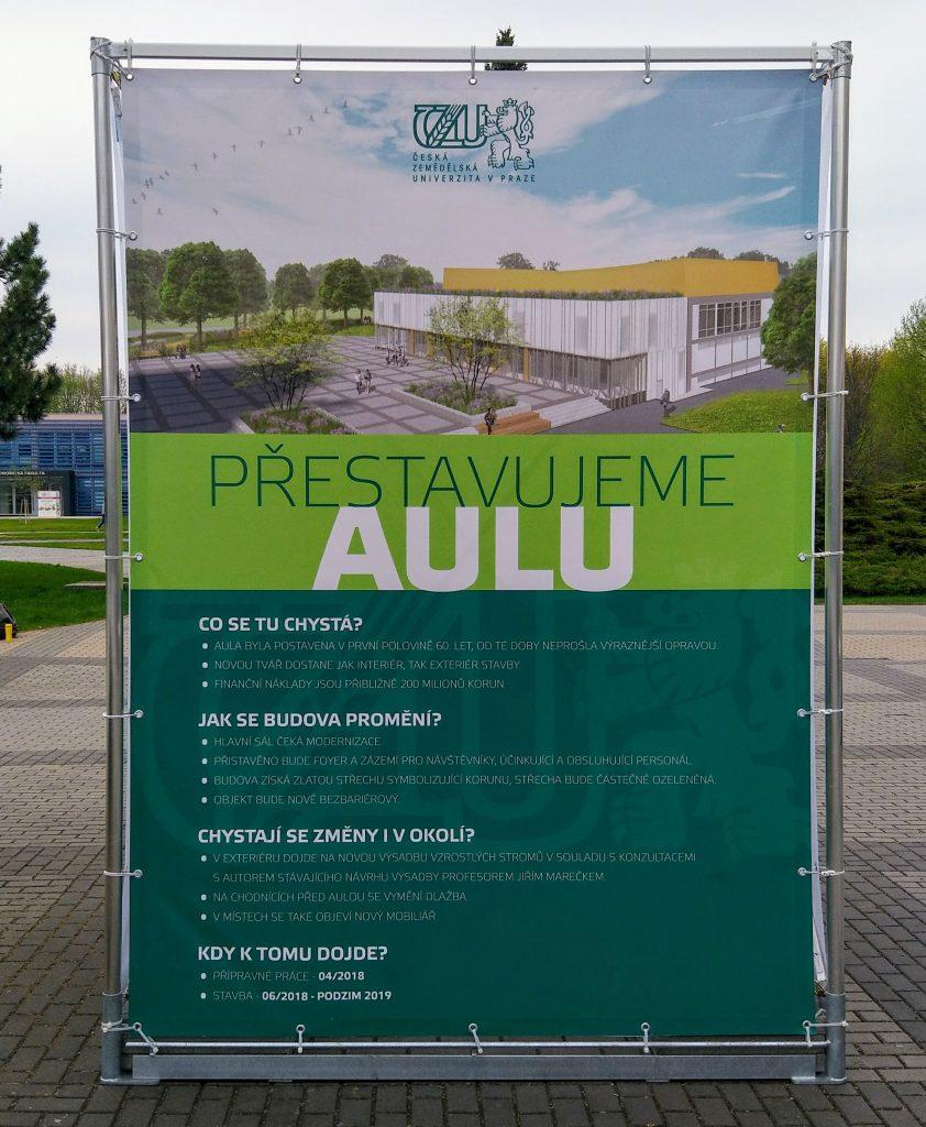 Nová aula ČZU