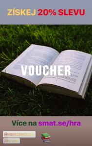 Voucher Knihy Dobrovský / instagram @pefczucz