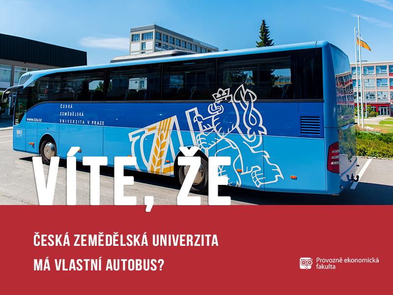 Vlastní autobus ČZU