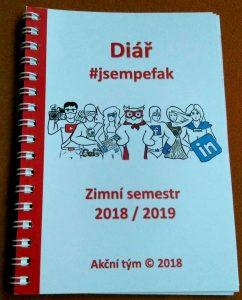 Diář #jsempefak