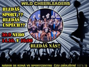 Nábor Wild Cheerleaders