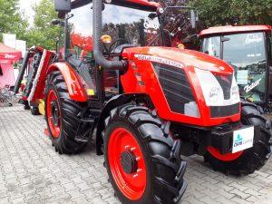 Země Živitelka 2018 červený traktor | foto: Marie Šimpachová Pechrová