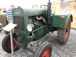 Země Živitelka 2018 starý traktor | foto: Marie Šimpachová Pechrová