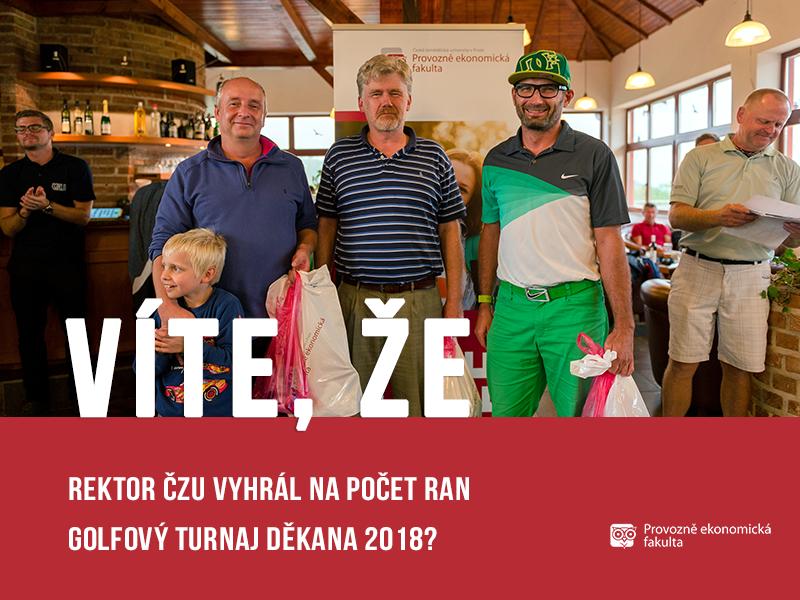 vite, ze rektor golf; autor obrázku Patrik Hácha