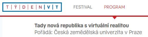 Týden VT / zdroj: http://www.tydenvedy.cz