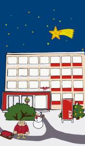 vánoční hra PEF 2018