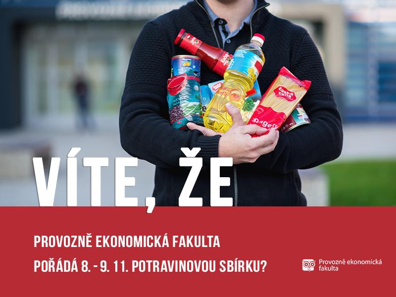 vite, ze potravinova sbirka; autor Patrik Hácha