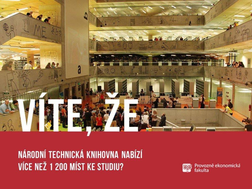 Studium v Národní technické knihovně