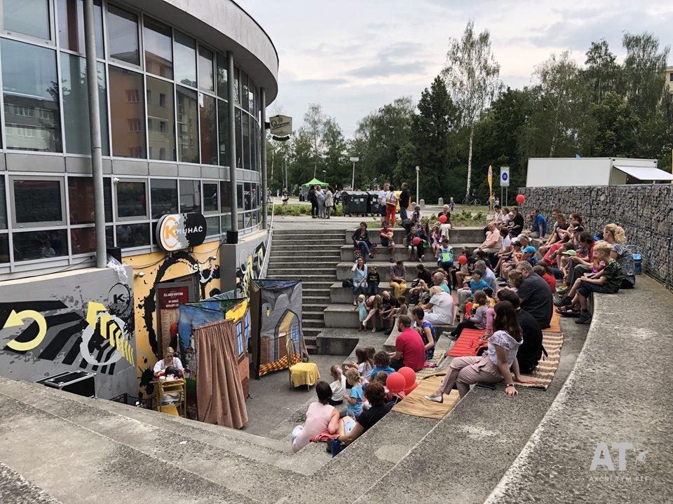 Program pro děti u Univerzitního klubu Kruháč