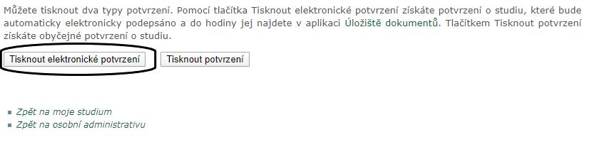 Tisknout elektronické potvrzení