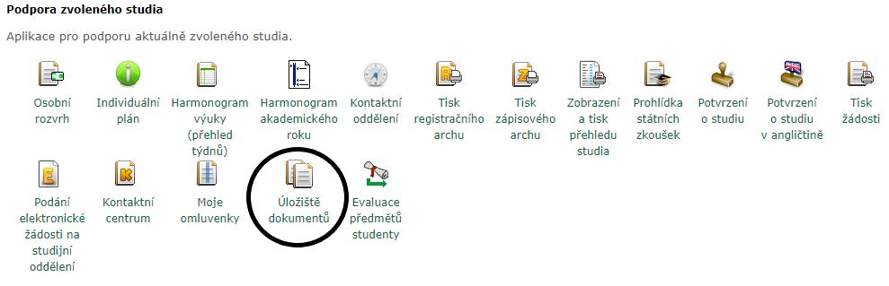 Úložiště dokumentů