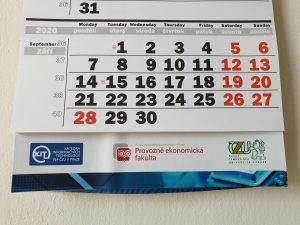 důležité termíny, kalendář KIT PEF ČZU 2020