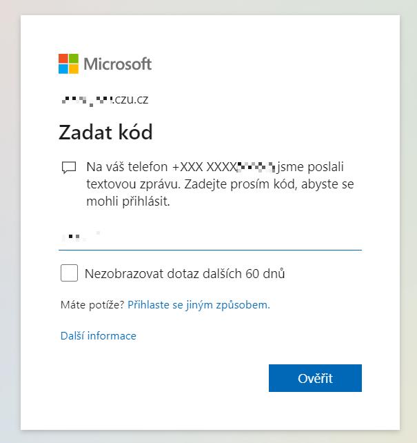 Outlook ČZU mě pořád odhlašuje...